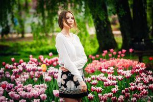 Ivetos fotosesija Kauno botanikos sode