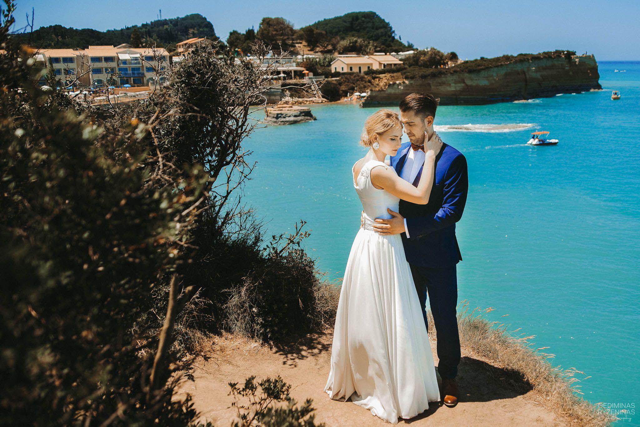 Vestuves graikijoje korfu